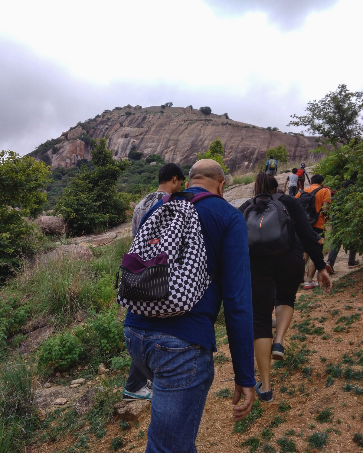 Chennarayana Durga: First Trek with BMC